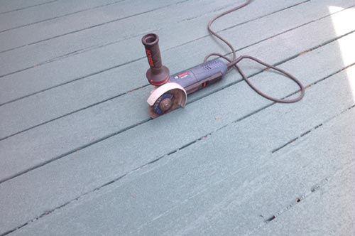 Restore Deck Paint Grinder