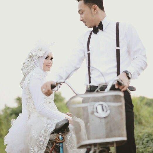 Prewedding Hijab Vintage