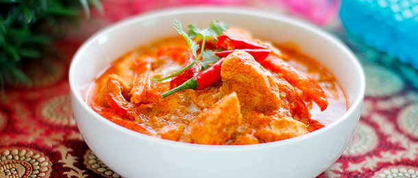 Thai Red Chicken Curry...fell in love with curry when Matt made it for me for the first time..you have to try it!