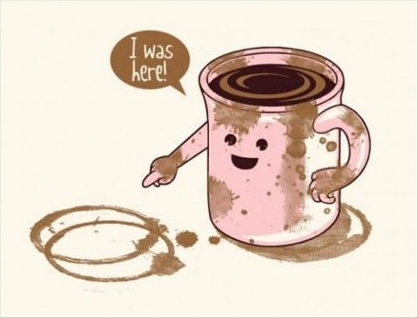 oh silly coffee!
