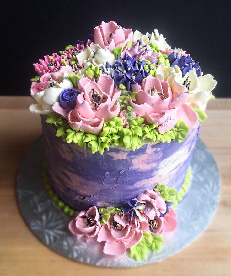 8 inch 4 layer lemon cake | Cake decorating, Cake, Lemon cake