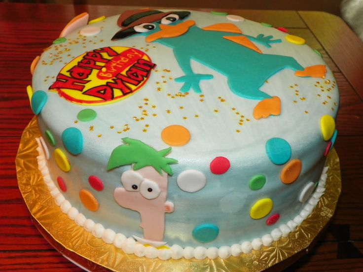 phineas and ferb birthday cake - Google Search