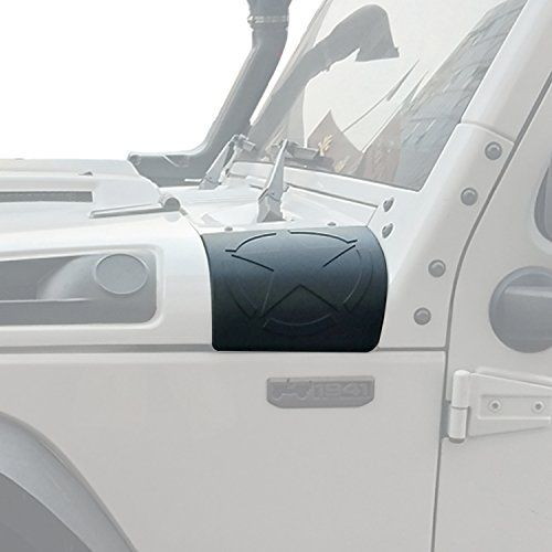 Opar Five Star Cowl Body Armor for 2007-2018 jeep wranger & Wrangler Unlimited JK - 1.Application. This Body Armor is designed to fit all 2007-2018 Jeep Wrangler JK. 2.Installation. No messy glue or drilling is required for installation.With 3M tape,it's pretty esay installation for everyone. 3.Organization. Opar Five Star Cowl Body Armor is designed to dress up your Jeep's Body...