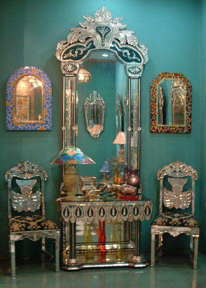venetian mirrors - Bing Images