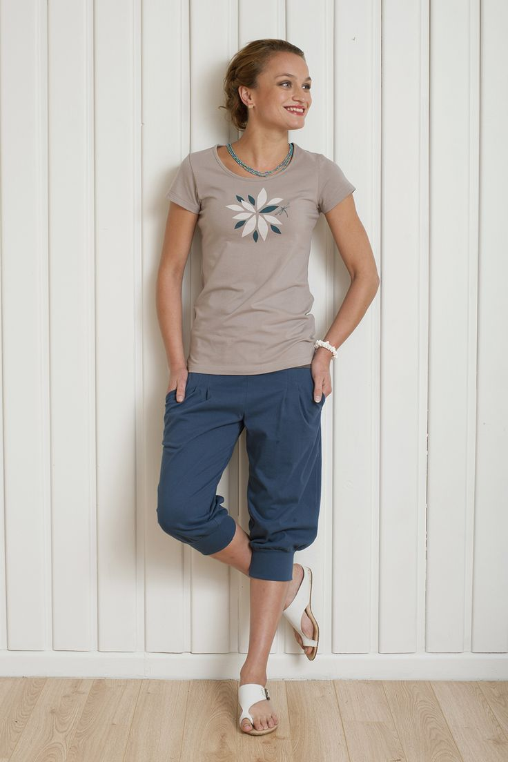 Dragonfly Scoop Neck Top and Be Serene Shorts - available now http://www.chalkydigits.co.nz/shop/summer15womens/be+serene+shorts.html