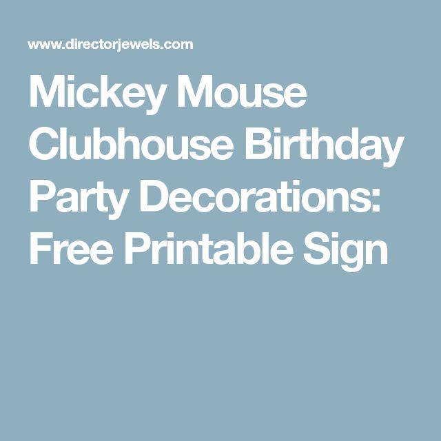 Best 25+ Mickey Mouse Banner Ideas On Pinterest