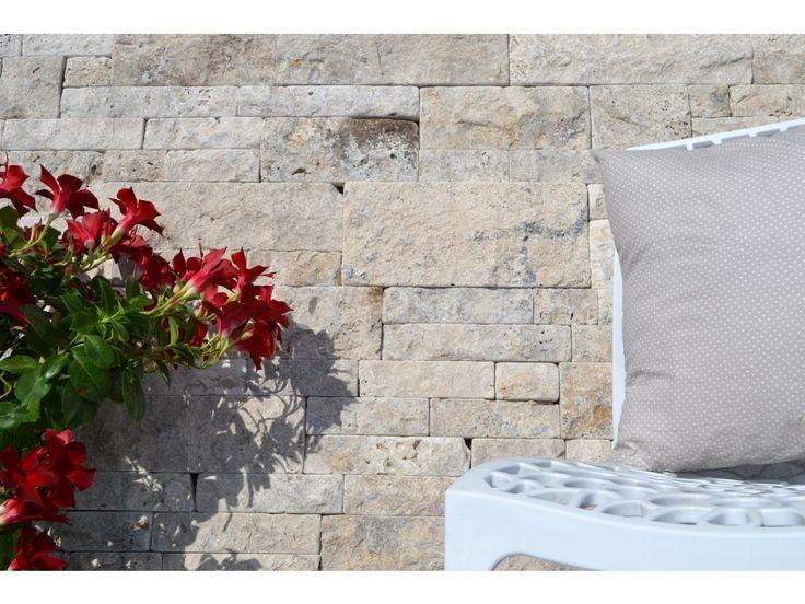 Provancce Multi je přírodní a moderní obkladový kámen vyrobený z travertinu