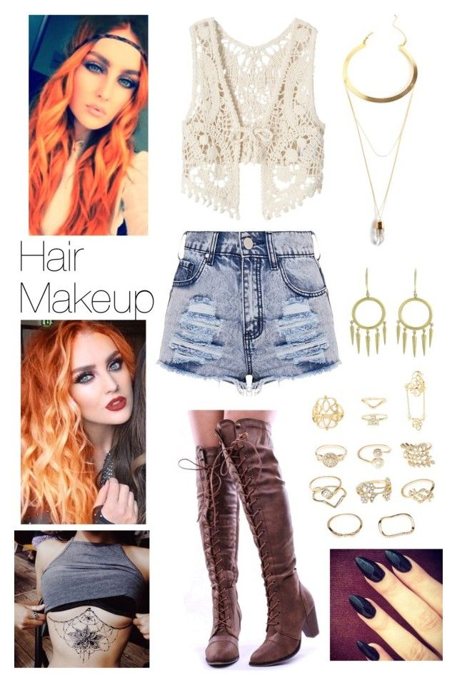 """Untitled #261"" by lumsdenk on Polyvore featuring American Rag Cie, Charlotte Russe, Gypsy Soul and Finn"