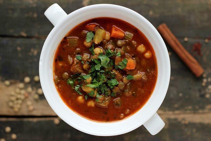 Marokańska zupa harira, marokańska harira, harira marokańska