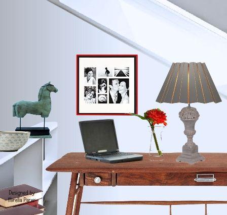 Un piccolo spazio  collage virtuale di Mirella Parer