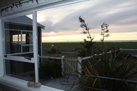 Ocean Front Kiwi Bach in Westport, Buller District | Bookabach