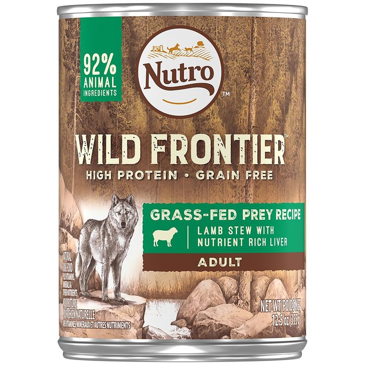 Nutro wild frontier wet dog food find out more about