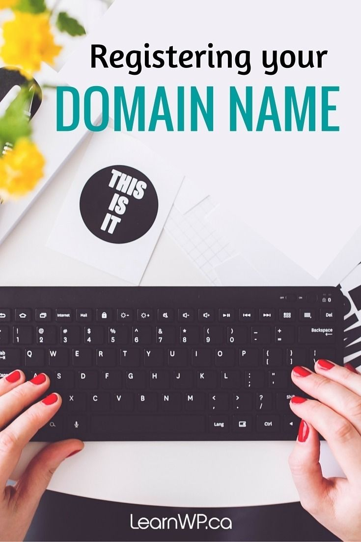 "Before you begin your WordPress Website journey, you'll have to register a domain name. A domain name is a unique address that can be used on the Internet. It's what you see in the address bar after the ""www."" in your web browser and it's what comes after the @ sign in an email address."