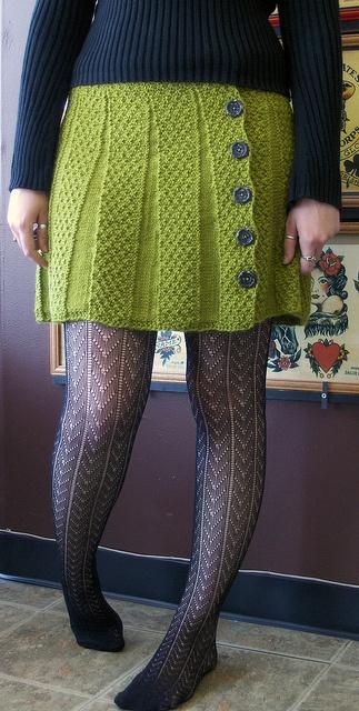 knit skirt - love it!