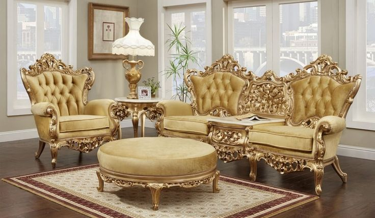 Victorian Living Room 641, Victorian Living Room Set