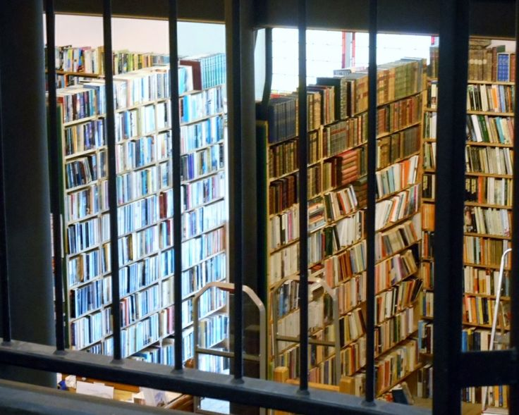 Leakey's Second-Hand Bookstore, Inverness.