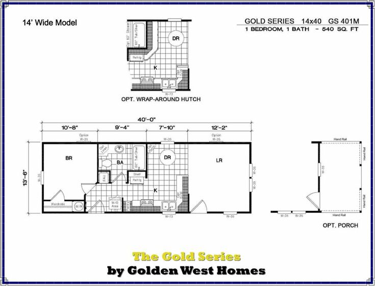 Tiny House Floor Plans Small Cabins Tiny Houses Small: 14X40 Cabin Floor Plans