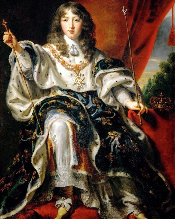 Justus van Egmont, Der Sonnenkönig Louis XIV