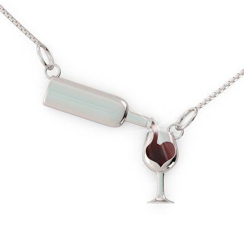 Love Wine (.925 silver)