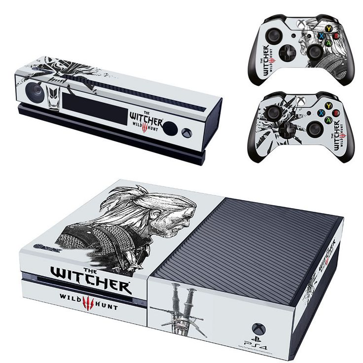 the witcher 3 wild hunt xbox one skin for console and controllers