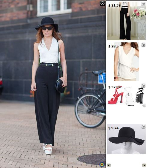 Street Style - Shop matching products in this pic at http://www.stylediggin.com/minimal-monochrome/