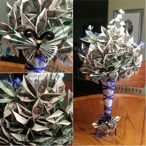 Money Bouquet I Made For A Wedding Gift Crafts I Made