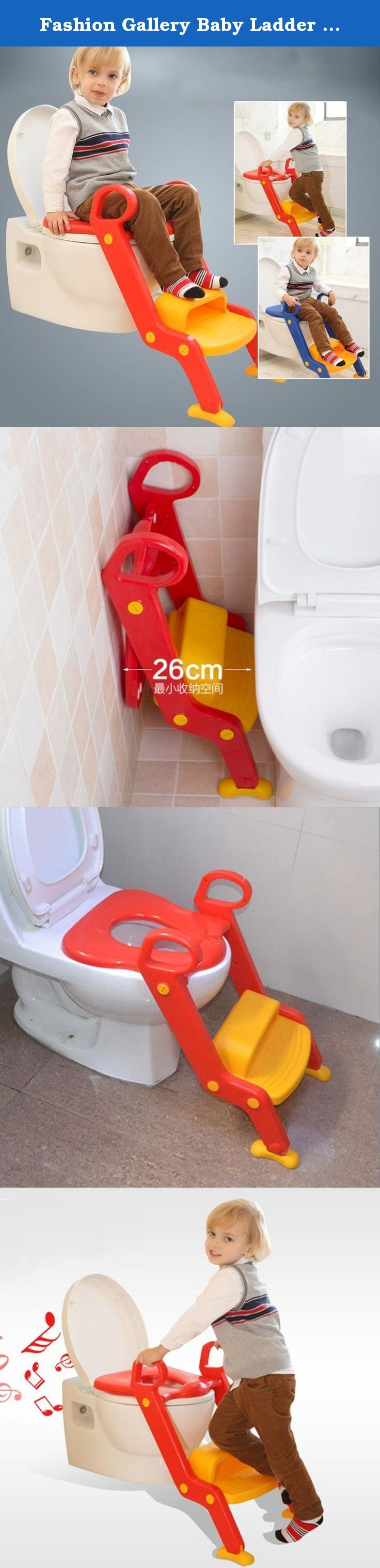 Fashion Gallery Baby Ladder Portable Chair Toilet Adjustable Steps Trainer Potty Seat Step Stool With Anti-Skid Feet (Red). Product include1 x Babu2026 & Fashion Gallery Baby Ladder Portable Chair Toilet Adjustable Steps ... islam-shia.org