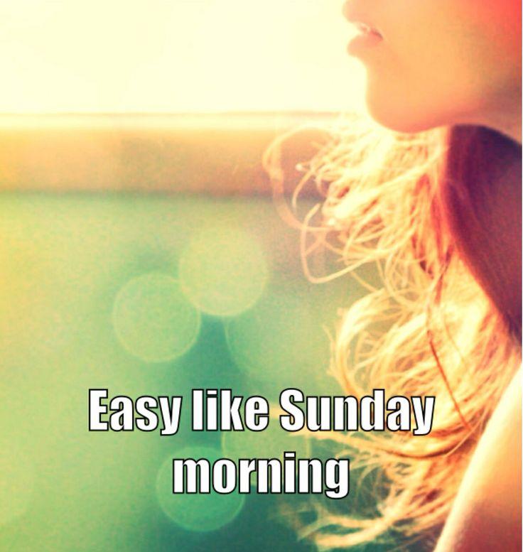 Sunday Morning Quotes: Sunday Morning Quotes. QuotesGram