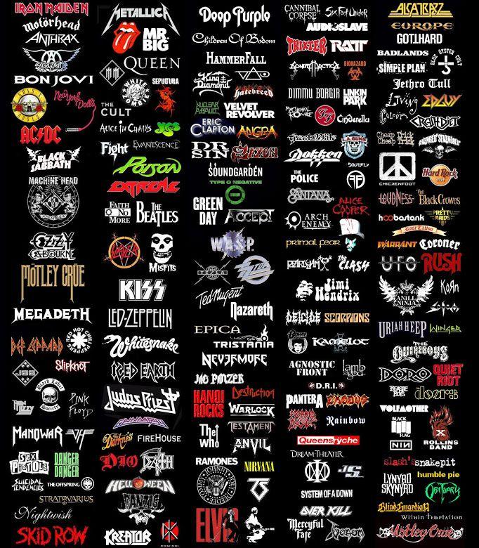 54 Best Music Logos Images On Pinterest Band Logos Rock Bands