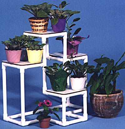 PVC Specialties from StartRemodeling.com. PVC Shelves. PVC Planters and Plant Racks. PVC Furniture. PVC Pool Equipment
