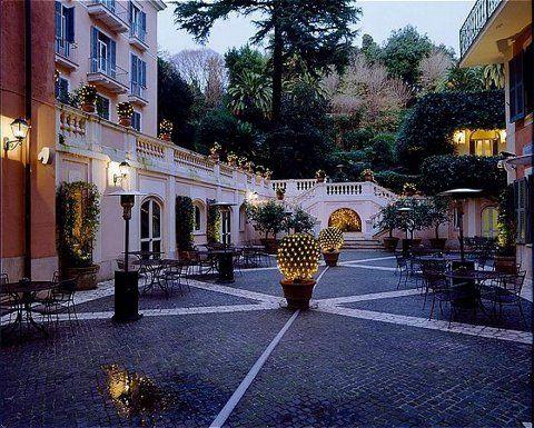 Best Outdoor Hotel Garden In Rome Hands Down