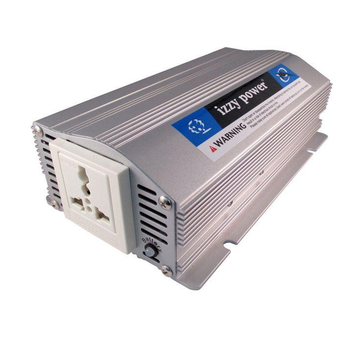 IZZY POWER DC to AC Car Inverter HT-E-600-12 600 Watt 12 Volts Model  IPCI0FXX Condition  New  Weight : 1.80 kg  Car Inverter termurah hanya di Gudang Gadget Murah. Izzy Power dengan model HT-E-600-12 dapat mengubah arus DC menjadi AC sehingga dapat menjadi penyuplai perangkat digital Anda yang membutuhkan daya hingga 600 Watt.  Made in Taiwan. Kualitas terbaik.