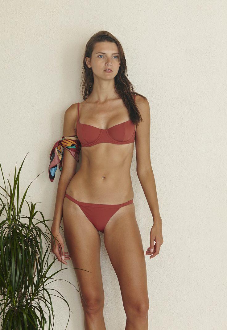 Pussycat Bikini Set in Terracotta  http://www.bowerswimwear.com/collections/spring-2016-francois/products/pussycat-bikini-terracotta