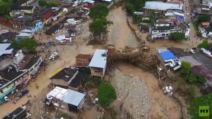 El presidente Juan Manuel Santos ha declarado el estado de calamidad pública para agilizar las operaciones de rescate y ayuda.
