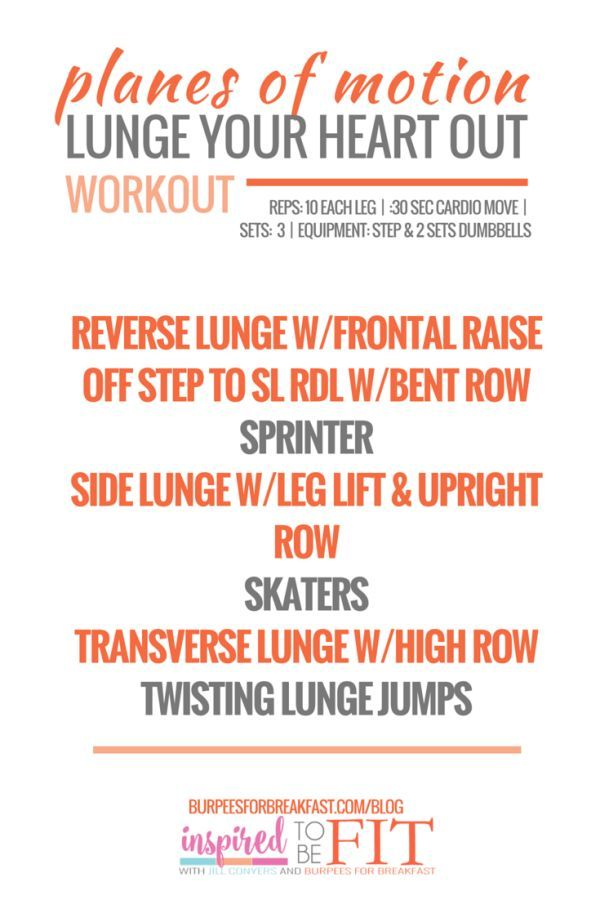 WORKOUT PROGRESSIONS: LEARN & BURN