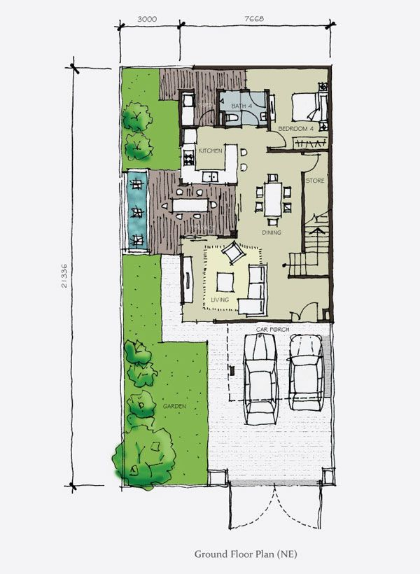 10 best floor plan obsession images on pinterest floor for Cluster house floor plan