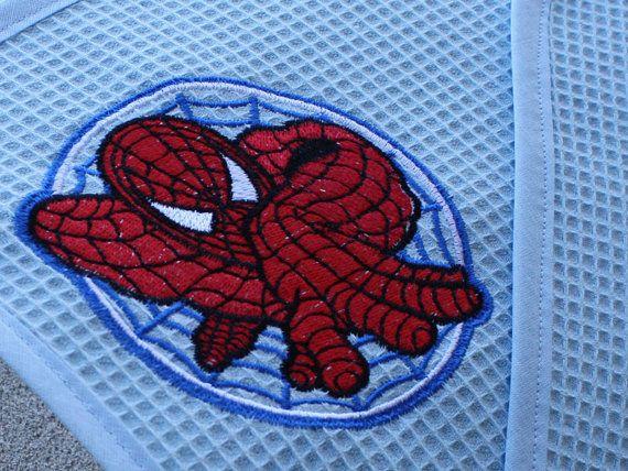 Un asciugamano tutto da personalizzare! #spiderman #marvel