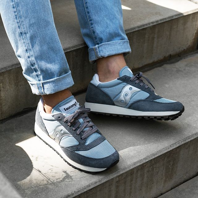 lowest price ca368 0d7a9 Saucony Jazz Original Vintage (Grey / Blue / White) | latest ...