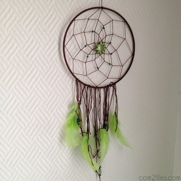 1000 images about dreamcatchers on pinterest dream - Creer un attrape reve ...