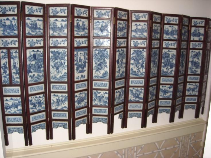 Antique Room Divider Doors