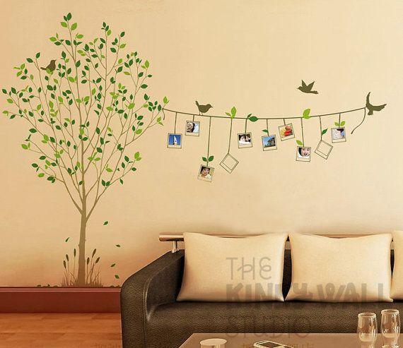 Risultati immagini per stencil e sticker per camera da letto ...