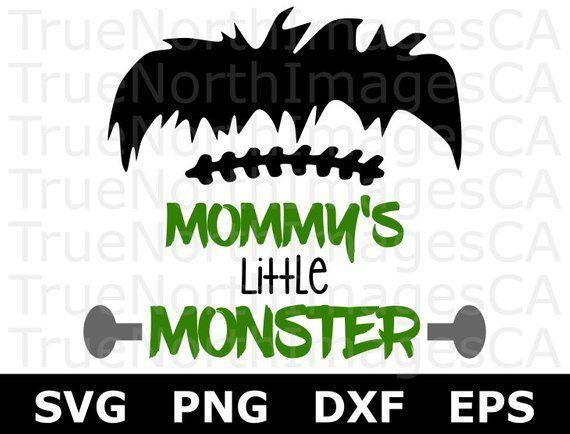 Halloween Svg Frankenstein Svg Monster Svg Mommys Little Monster Svg Svg Files For Cricut Silhouette Files Cricut Svg Files For Cricut Svg