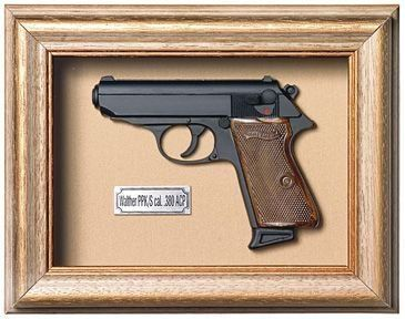 Quadro Pistola Walther Ppk - Artigos Militares, Camping, Paintball e Airsoft - Tática Militar