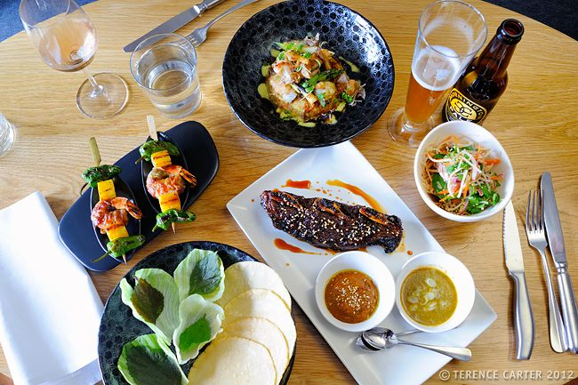 Eating out in Melbourne - Contemporary Asian Cuisine #Melbourne