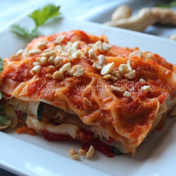 Лазанья вегетарианская (веганская): невероятный результат!   Вегетарианский.ru