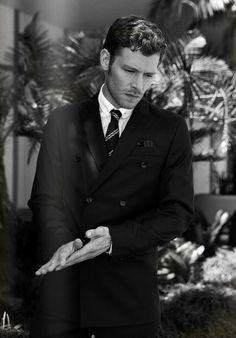 joseph morgan white suit - Google Search