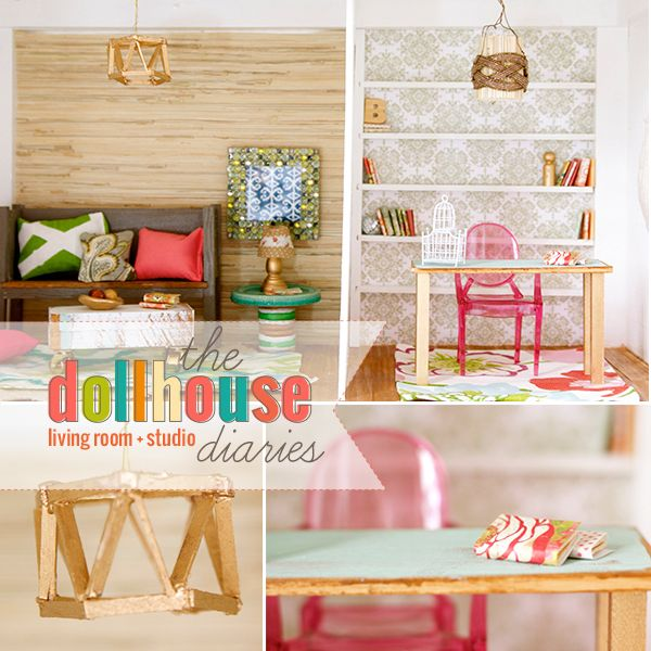 Barbie Furniture Diy: DIY Dollhouse!