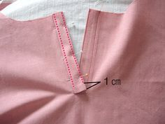 How to Sew a Button Placket. If you use this tutorial, you can make those kinds of dresses or tops that have buttons, but they don't go all the way to the edge of the garment.