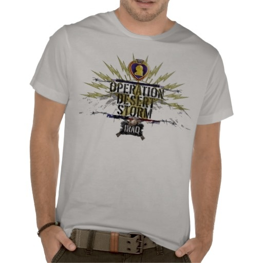 operation Dessert Storm Iraq Purple Heart T-shirt