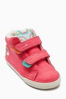 Ботинки с двумя ремешками (Девочки)
